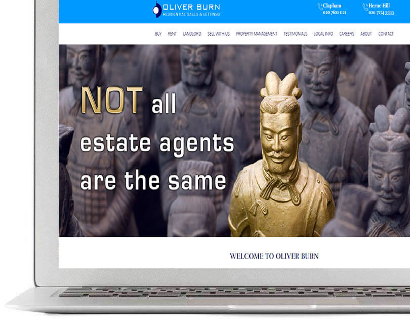 Website and Software for Estate agents